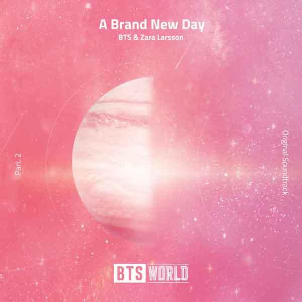 A Brand New Day 1 - MP3: BTS V, JHope, Zara Larsson – A Brand New Day (BTS World OST Part 2)