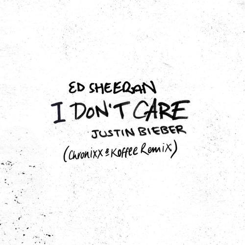 I Don't Care (Chronixx & Koffee Remix)Ed Sheeran Feat. Justin Bieber, Chronixx & Koffee