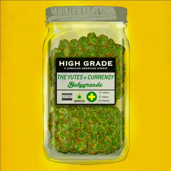 MP3: The Yutes - High Grade Ft. Curren$y