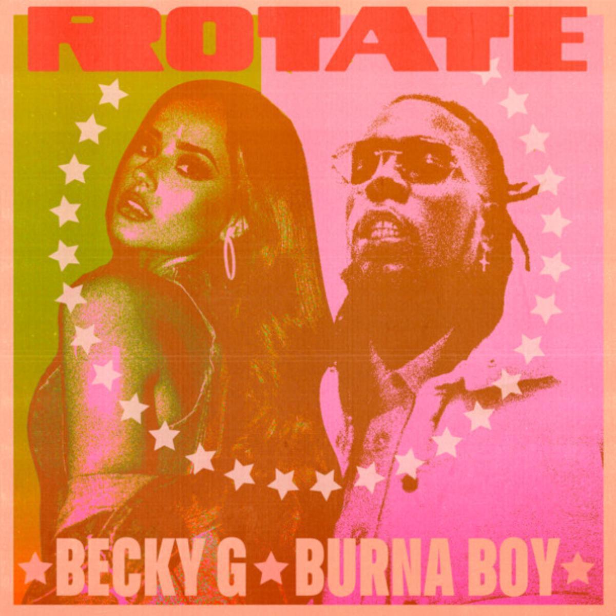 MP3: Becky G - Rotate Ft. Burna Boy