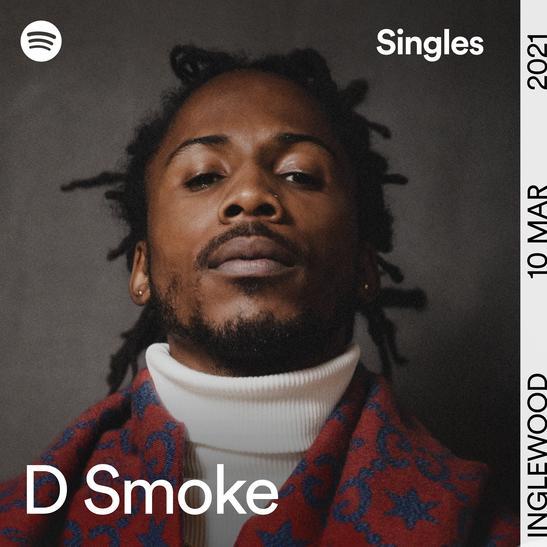 MP3: D Smoke - Sade (Spotify Singles)