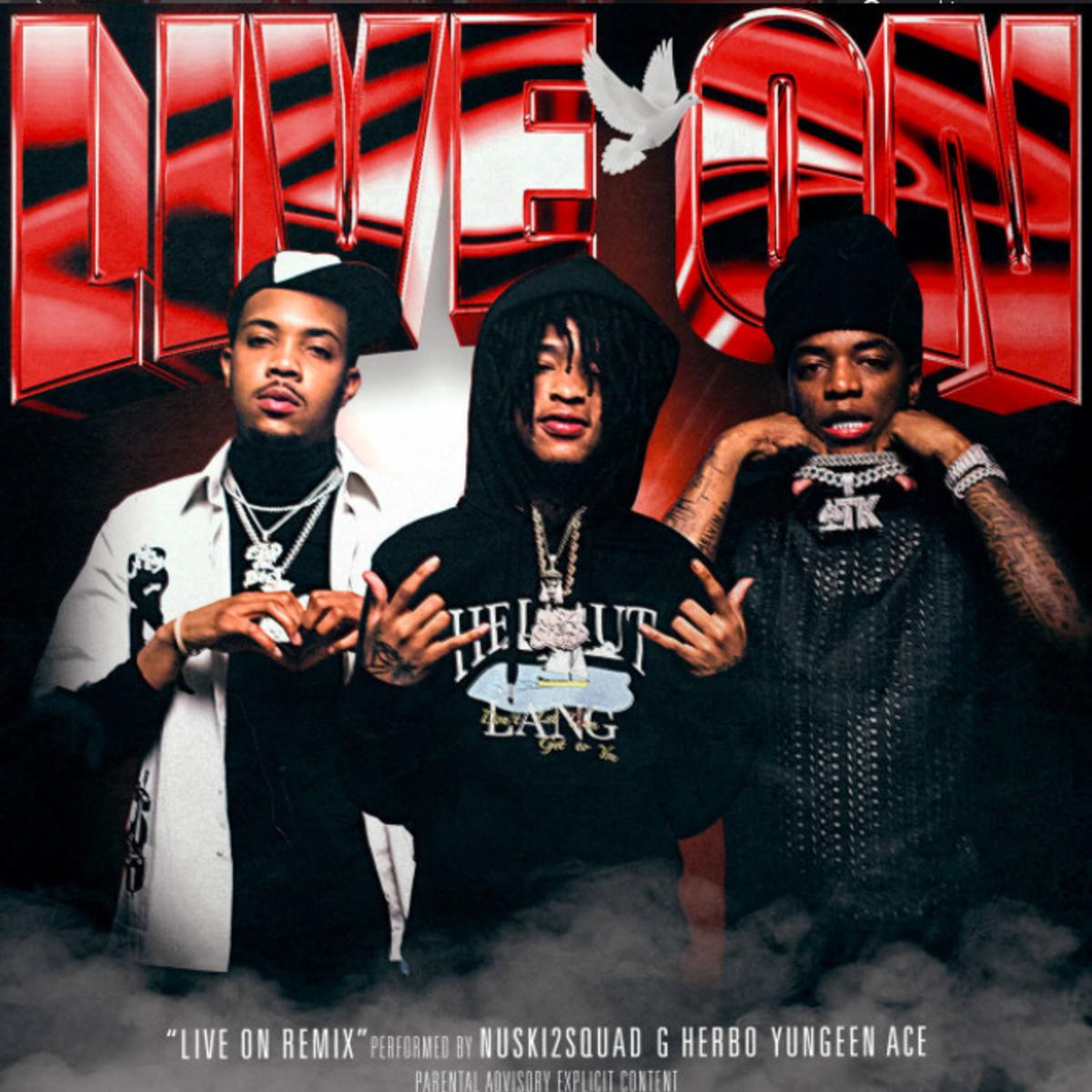 MP3: NUSKI2SQUAD - Live On (Thuggin Days) [Remix] Ft. G Herbo & Yungeen Ace