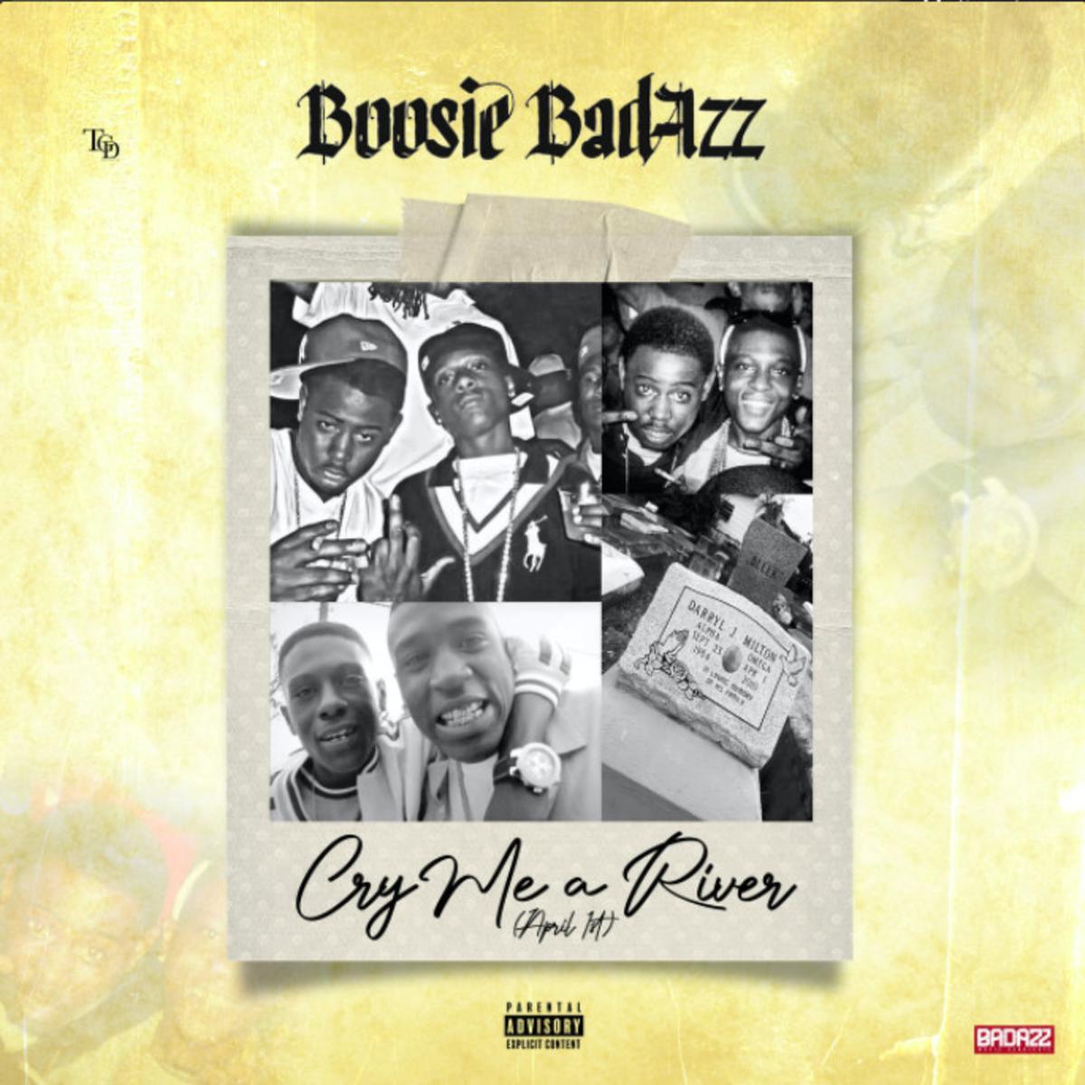 MP3: Boosie Badazz - Cry Me A River (April 1)