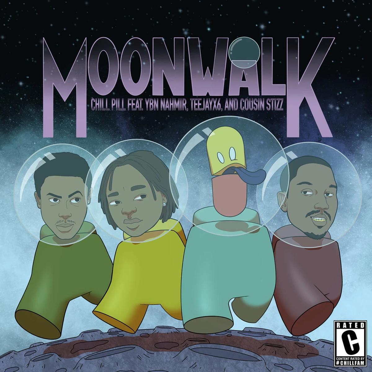 MP3: ChillPill - Moonwalk Ft. YBN Nahmir, Teejayx6 & Cousin Stizz