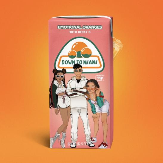 MP3: Emotional Oranges - Down To Miami Ft. Becky G