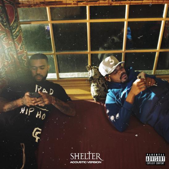 MP3: Vic Mensa - SHELTER (Acoustic Version) Ft. Chance The Rapper