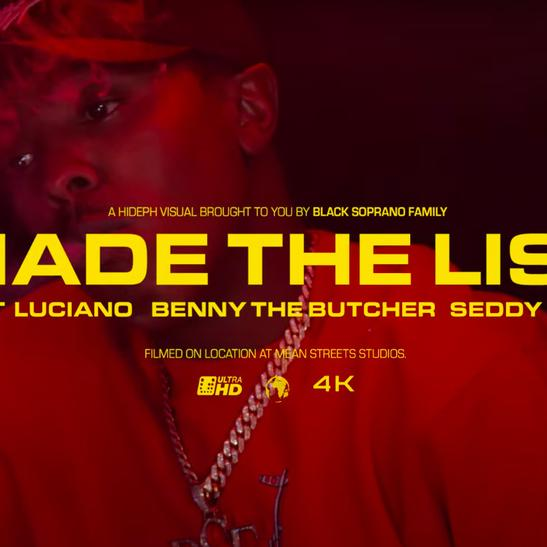 MP3: Loveboat Luciano - Made The List Ft. Benny The Butcher & Seddy Hendrix