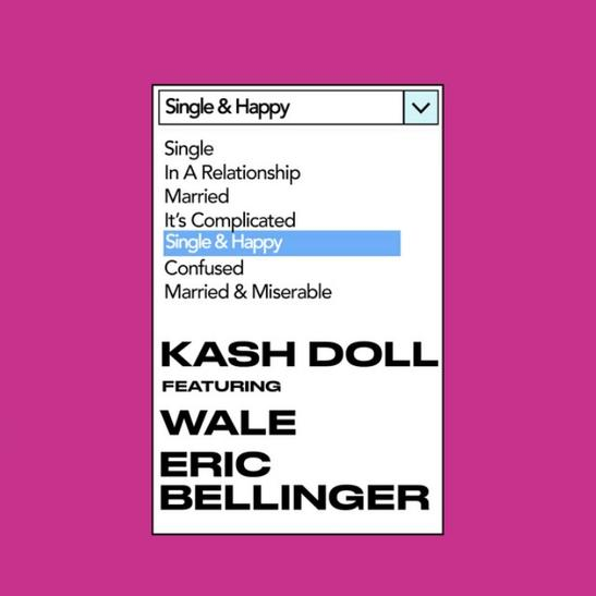 MP3: Kash Doll - Single & Happy Ft. Wale & Eric Bellinger