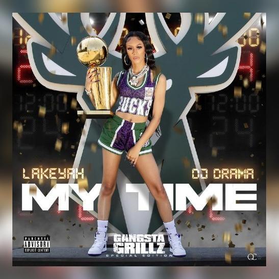 MP3: Lakeyah & DJ Drama - Check Ft. MoneyBagg Yo