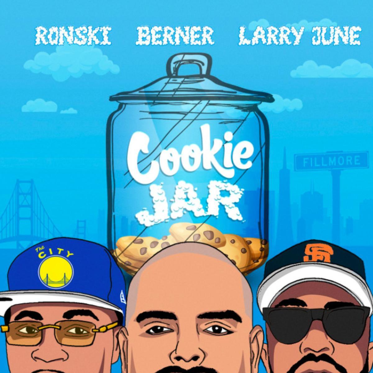 MP3: Ronski - Cookie Jar Ft. Larry June & Berner