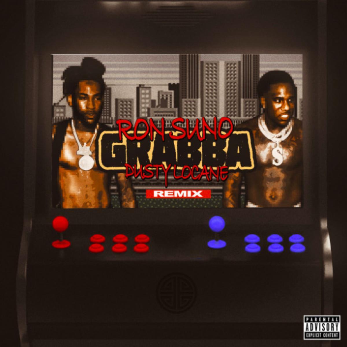 MP3: Ron Suno - Grabba (Remix) Ft. Dusty Locane