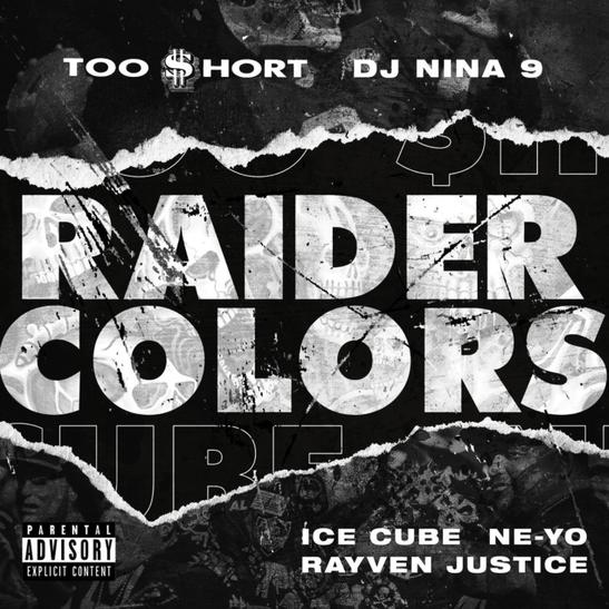 MP3: Too Short - Raider Colors Ft. Ice Cube, Ne-Yo, Rayven Justice & DJ Nina 9