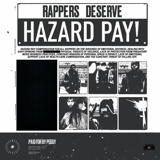 MP3: JPEGMAFIA - HAZARD DUTY PAY!