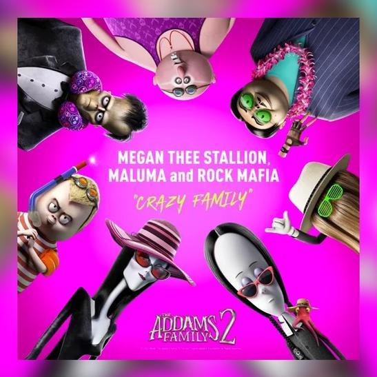 MP3: Megan Thee Stallion, Maluma & Rock Mafia - Crazy Family
